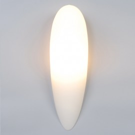 Energy Saving Opal Glass Teardrop Wall Light (PW8301)