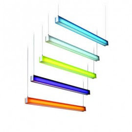 T5 Fluorescent Tube Lighting - Colours